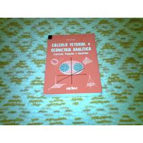 Livro Calculo Vetorial E Geometria Analitica 1994