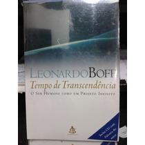 Livro -tempo De Transcendência- Leonardo Boff (cd Extra)a.b.