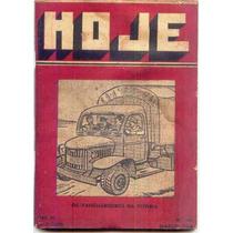 B2129 Rara Revista Hoje Nº 65, Jun 1943, Ciências, Letras