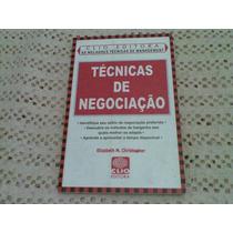 Livro ,,, Tecnicas De Negociaçao 2001