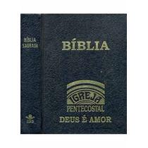 Livro Bíblia Igreja Pentecostal Deus É Amor