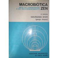 Livro Macrobiótica Zen Sakurazawa Nyoiti
