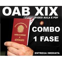 Oab Xix 1ª Fase Completo - Entregue No Ato + Uti Brinde