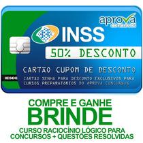 Preparatório Inss 2015 Aprova Concursos 50%off