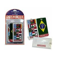 Etiqueta Identificação De Malas Viagem Bagagem Primicia 3un.