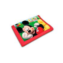 Carteira Infantil Mickey Disney Original Brilha Festa