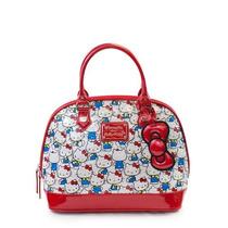 Hand Bag Hello Kitty Vintage Brilhante Patente Bolsa De Cour