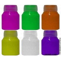 Tinta Corporal Fluorescente Neon Fluorcorp - 300 Ml