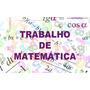 Lista De Exercícios, Provas, Trabalhos De Matemática