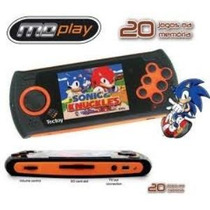 Md Play Mega Drive Portatil Tectoy C/ 20 Jogos- Original