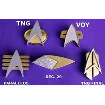 5 Comunicadores - Pin Botom - Jornada Nas Estrelas Star Trek