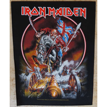 Back Patch (costas) Estampado - Iron Maiden 63 - Importado