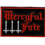 Patch Bordado - Mercyful Fate - Logo - P8 - Importado