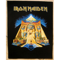 Back Patch P/costas - Iron Maiden - Powerslave - Importado