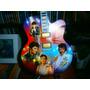 Elvis Presley *mini Violão, Musical, Imp. Iluminado Com Tcb*