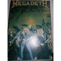 Megadeth - Quadro Importado - Raro ! Metallica - Slayer -