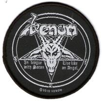 Patch Tecido - Venom - In League With Satan - Importado