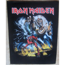 Back Patch - Iron Maiden Number Of The Beast 2011 Importado