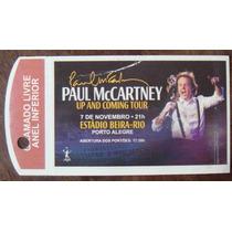 Paul Mccartney Ingresso Show Upand Coming Tour Beira Rio Rs