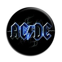 Ac Dc Botton Acdc Button Ac/dc Botton - Mod06 - 3,5cm