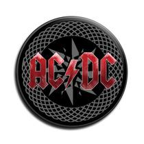 Ac Dc Botton Acdc Button Ac/dc Botton - Mod11 - 2,5cm
