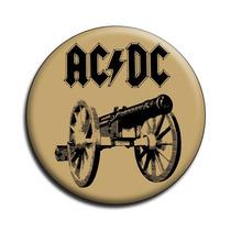 Ac Dc Botton Acdc Button Ac/dc Botton - Mod14 - 4,5cm