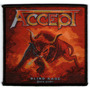 Patch Tecido - Accept - Blind Rage - P19 - Importado