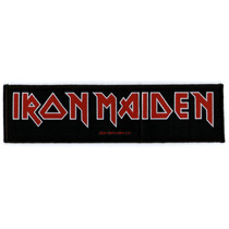 Patch Tecido - Iron Maiden - Logo Comprido - P350 Importado