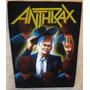 Back Patch P/ Costas Anthrax - Among The Living 2- Importado