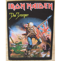 Back Patch P/costas - Iron Maiden Trooper Bp35 Importado