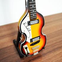 Miniatura Baixo Violino Paul Mccartney (the Beatles)