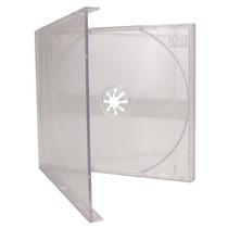 20 Capa Caixinha Acrilica Cd Box Tradicional Transparente