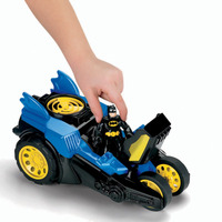 Brinquedo Imaginext Carro Batmovel Batman Sons Move 90cm