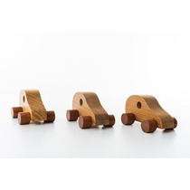 Brinquedos Educativos Carrinho Educativo Mini-fusca Madeira