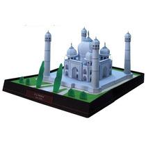 Maquete De Papel 3d - Taj Mahal - Índia