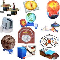 Maquetes De Papel 3d - 11 Modelos De Ciências Em 3 Dimensões