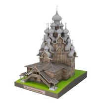 Miniatura De Papel - Rússia Igreja Da Transfiguração