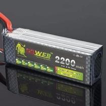 Bateria Lipo Power 2200mah 25c 3s (11.1v) Produto Usado