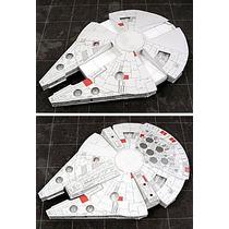 Maquete De Papel 3d - Star Wars Millenium Falcon