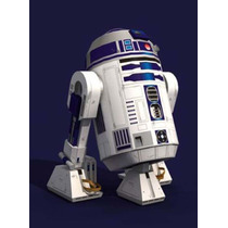 Papel Modelismo 3d - Star Wars R2-d2 Para Imprimir E Montar
