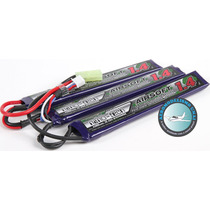Bateria Lipo 1400mah 3s 11.1v 15c Turnigy Nanotech Airsoft