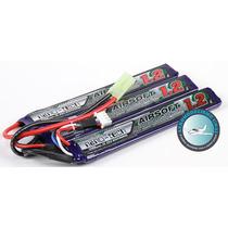Bateria Lipo 1200mah 3s 11.1v 15c Turnigy Nanotech Airsoft