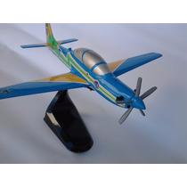 Maquete Avião Super Tucano A-29 24cm - Miniatura