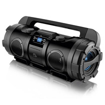 Rádio Boombox Com Entrada Usb Preto - Multilaser - Sp163