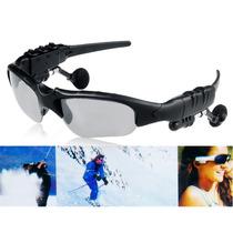 Óculos De Sol Bluetooth Estéreo Música Mp3 (preto)