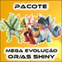 Pacote: Mega Evolução Shiny Or As | 5/6 Ivs - Pokémon X Y