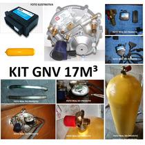 Kit Gnv 17m³ De 3ª Geração Pouco Uso