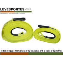 Cinta Reboque 4x4 P/ 10 Ton (2 Peças) 6 E 10 Metros