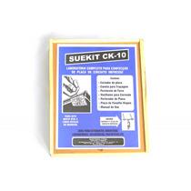 Kit Suetoku P/ Circuito Impresso De Eletrônica Suekit Ck-10