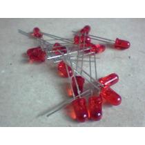 Led 5mm Vermelho/difuso/comum Kit